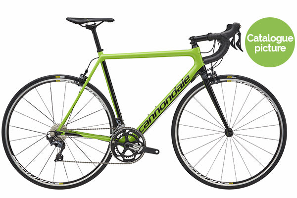 2018 SuperSix EVO Ultegra Compact - Green