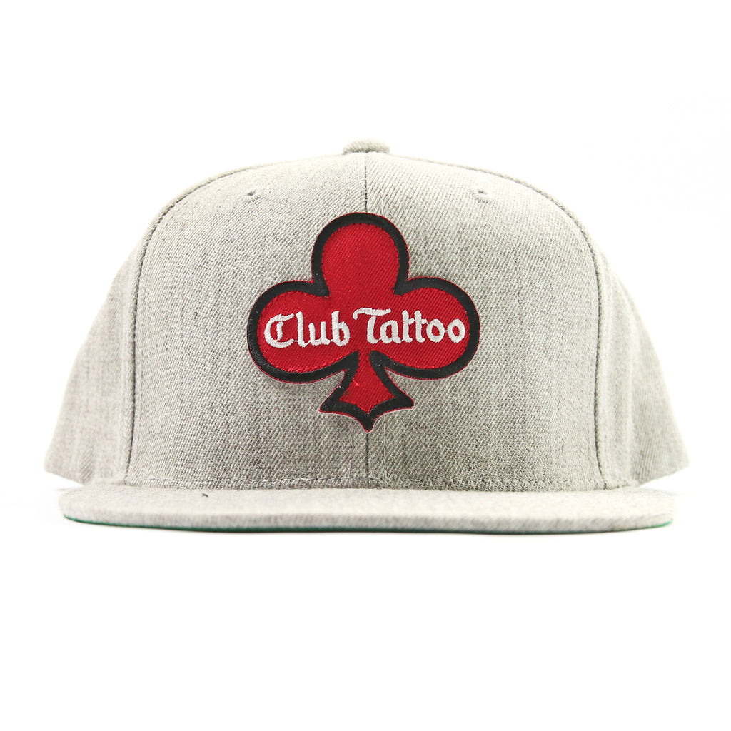 Hand Drawn Club Hat - Heather Grey - Club Tattoo