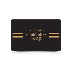 Gift Card - Club Tattoo