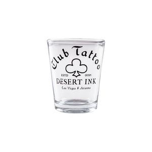 Shot Glass Desert Ink - Club Tattoo
