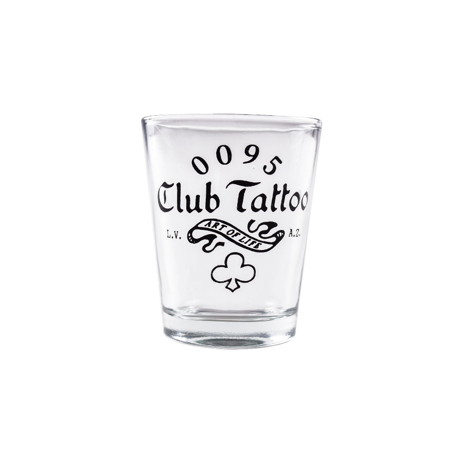 Shot Glass Art of Life - Club Tattoo