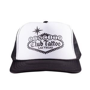 Classic Sin City Trucker Hat - Club Tattoo
