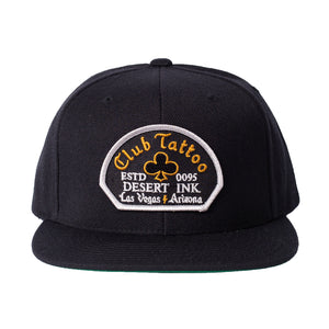 Desert Ink Hat - Black - Club Tattoo