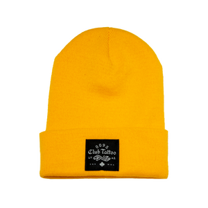 Woven Club Tattoo Beanie - Club Tattoo
