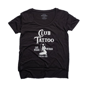 Women's Matchbook Tee - Club Tattoo