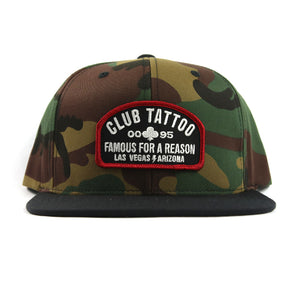 CT Shop Camo Hat - Club Tattoo