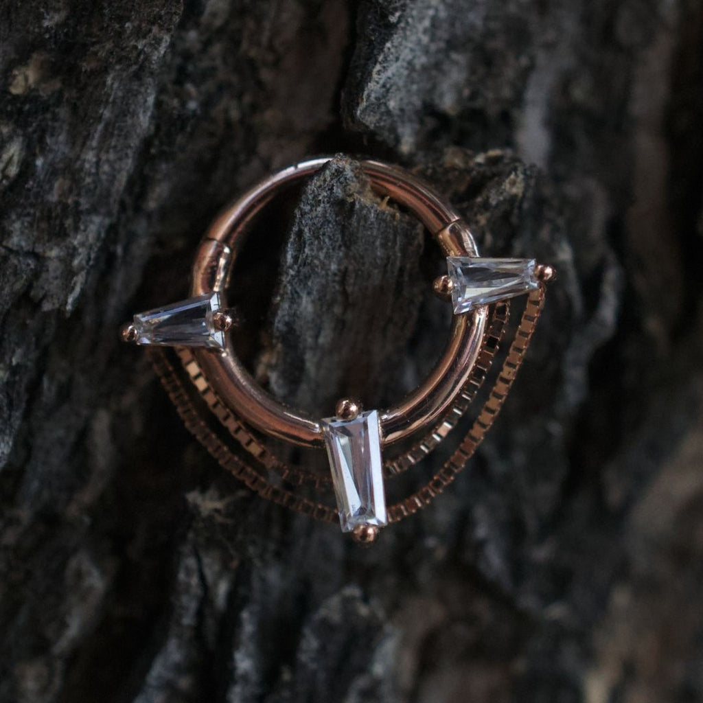 Fetish Hinge Ring By Buddha Jewelry Organics - Club Tattoo
