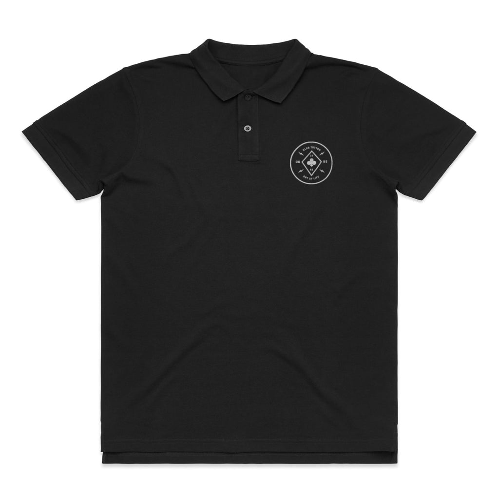Bolted Polo - Club Tattoo