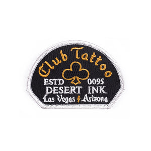 Club Tattoo Desert Ink Patch