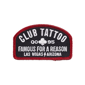 Club Tattoo Shop Patch - Club Tattoo