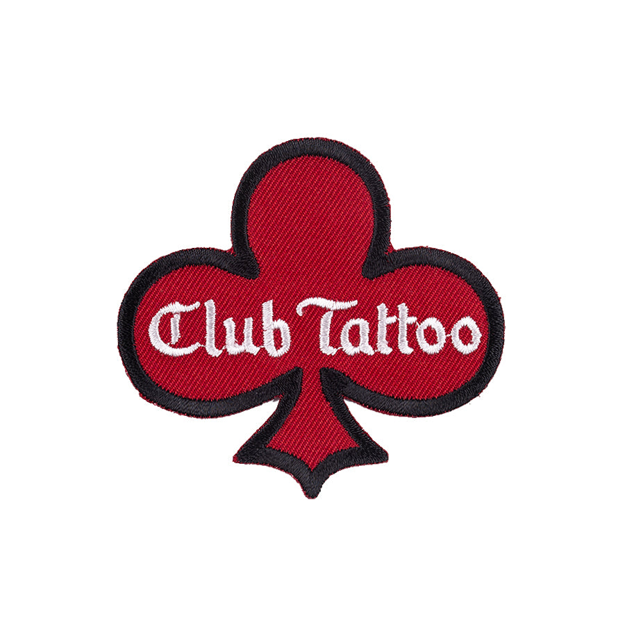 Hand Drawn Patch (Red) - Club Tattoo