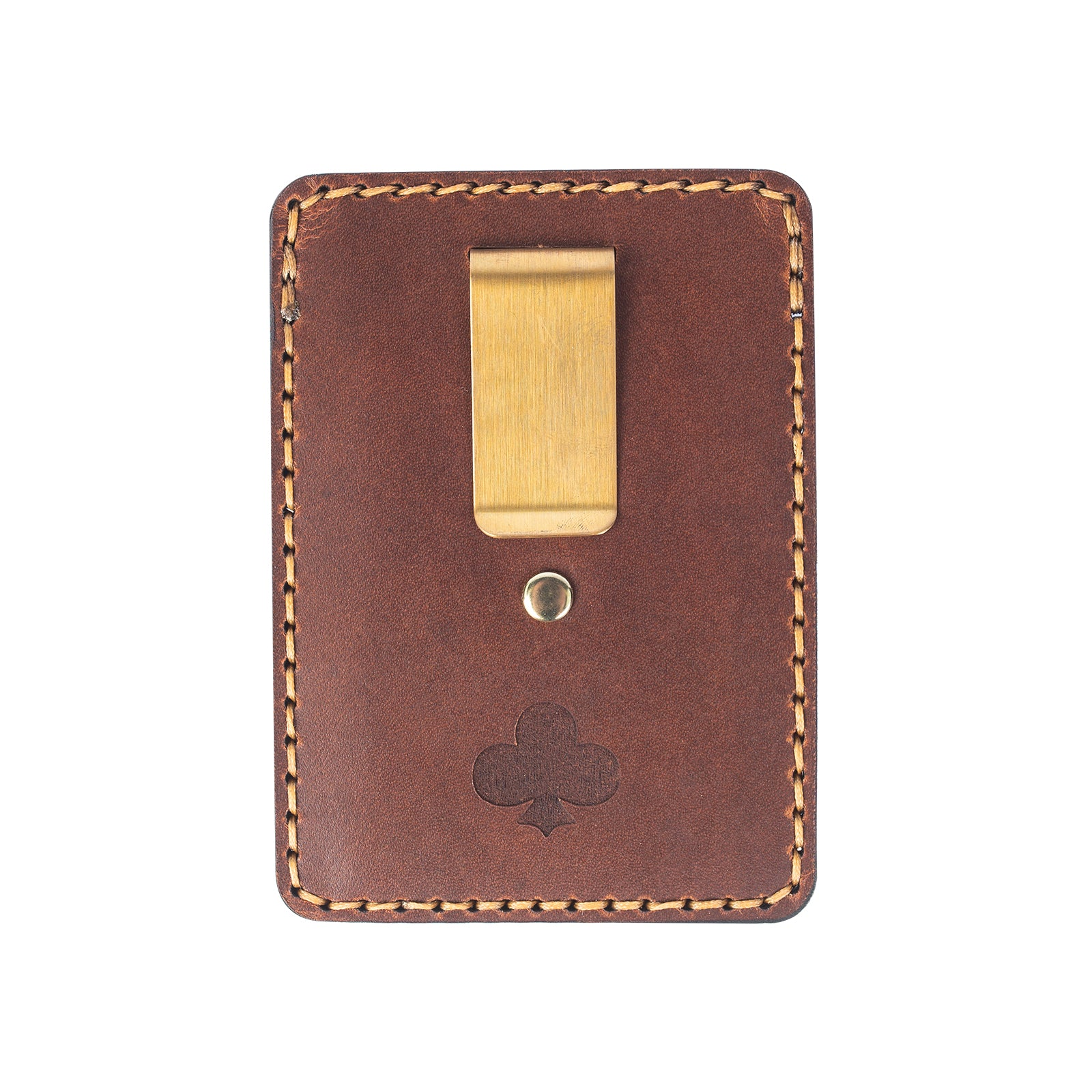 Leather Hemlock Card Wallet - Club Tattoo