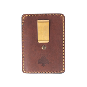Leather Hemlock Card Wallet
