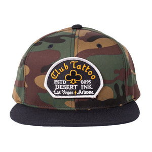 Desert Ink Camo Hat - Club Tattoo