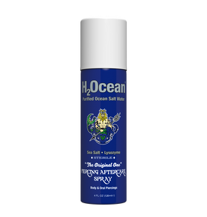 H2Ocean Piercing Aftercare Spray, 4 Oz - Club Tattoo