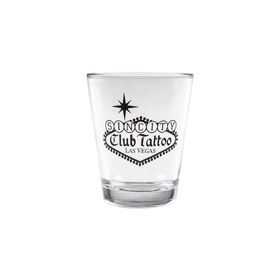 Shot Glass Sin City - Club Tattoo