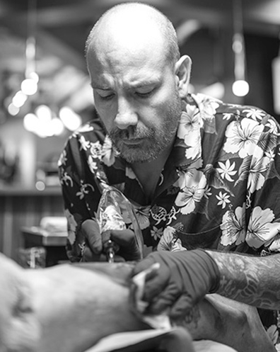 World Class Tattoo Artist At Club Tattoo in Las Vegas Nevada at The LINQ Hotel & Casino