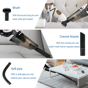 HIKEREN Car Hand Cordless Portable Vacuum Cleaner H-303