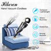 HIKEREN Car Hand Cordless Portable Vacuum Cleaner H-305-Gold
