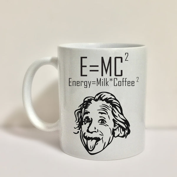 Einstein Funny Coffee Mug Tea Milk Cup