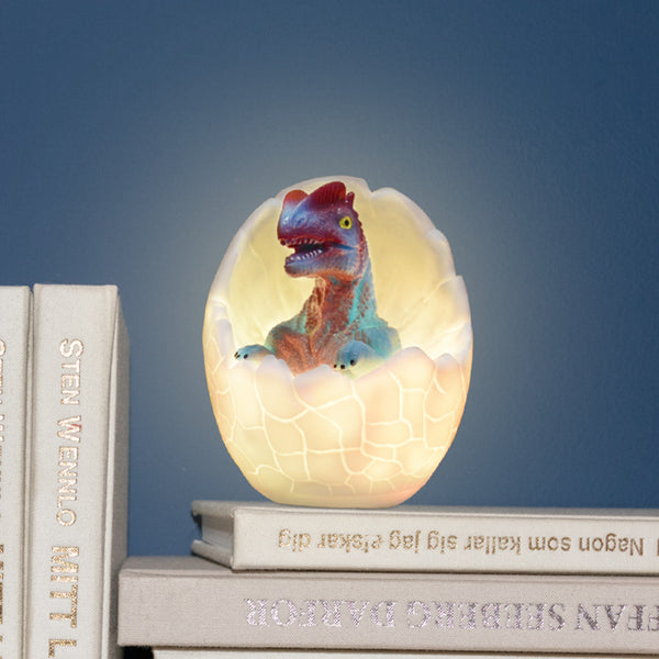 Dinosaur LED Night Light Cartoon Creative Charging Touch Colorful Lights