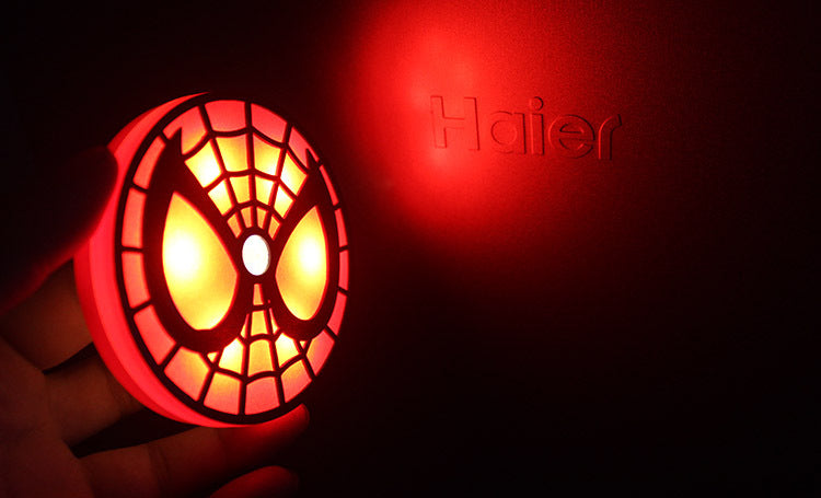 Spider-Man LED Night Light Illuminated Lamp House Supplies