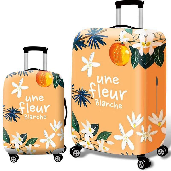 Luggage Suitcase Dustproof Cover Elastic Suitcase Protector
