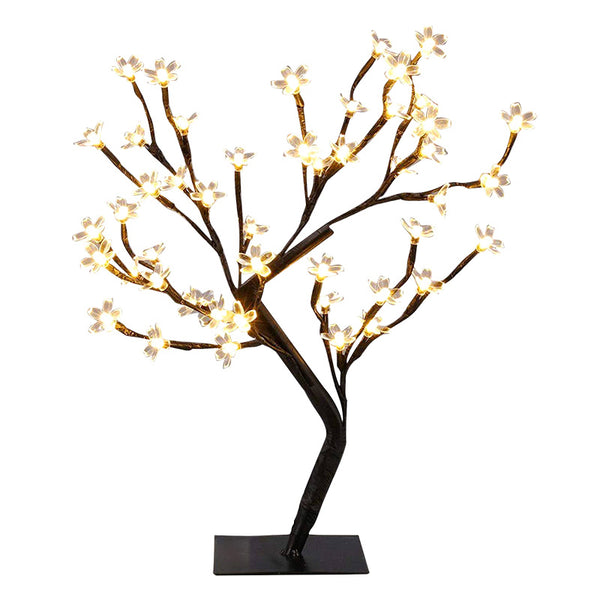 LED Cherry Tree Lamp Night Light Gifts for Girls Home Decoration