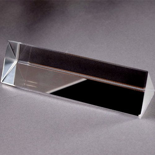 Physics Education Prism Precision Optical Glass 4 inches