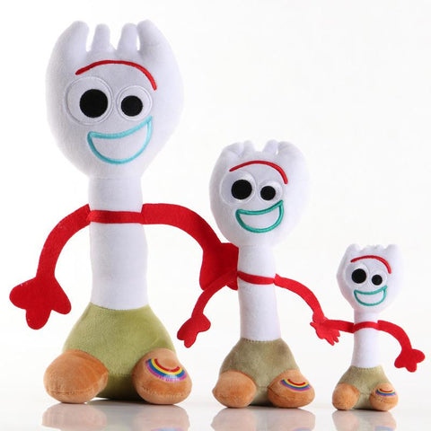 Toy Story 4 Forky Plush Toy Plush for Home Sofa Decor Holiday Gifts for Kids