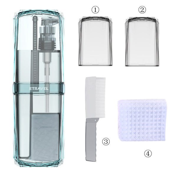 Travel Portable Wash Cup Toothbrush Storage Box Set Camping Accessories Organizer
