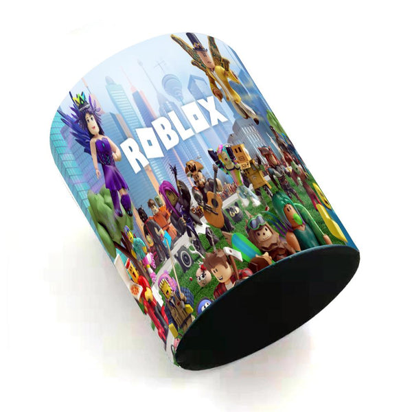 Roblox Trash Can for Kids Kitchen Bedroom Living Room Household Indoor Use