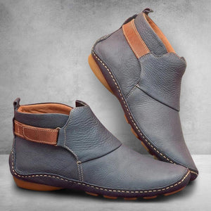 Casual Comfy Daily Adjustable Soft Leather Booties