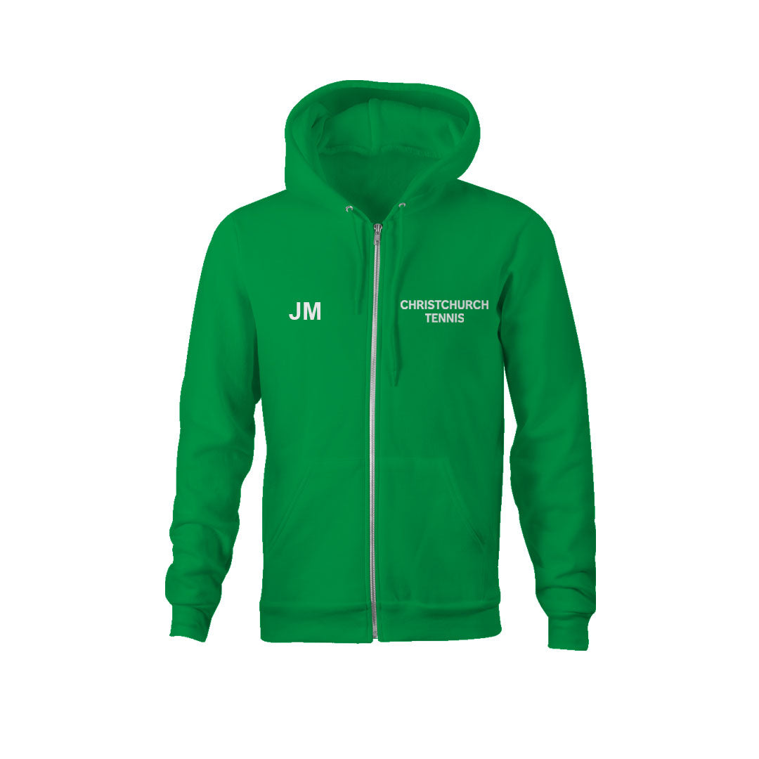 Christchurch Tennis Club Kids Classic Unisex Zip Hoodie