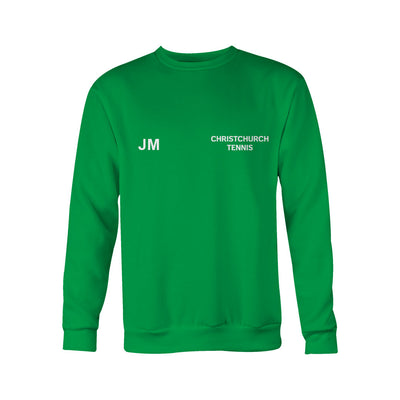 Christchurch Tennis Club Adults Classic Unisex Sweatshirt