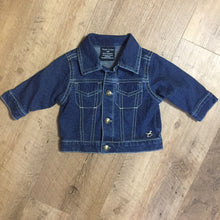 Load image into Gallery viewer, Faded Glory 0-3 Month Denim Jacket