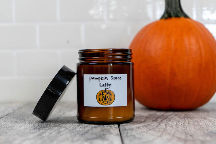 Pumpkin Spice Latte Candle - 8 oz.
