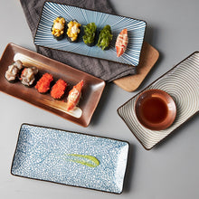 Load image into Gallery viewer, Japanese Style Sushi Plates