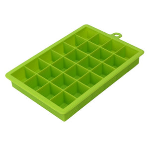 Large 24 Grids Silicone Ice Tray