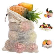 Load image into Gallery viewer, Reusable Mesh Bags For Home Kitchen Fruit Vegetable