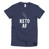"Women's ""KETO AF"" - Short sleeve women's t-shirt"