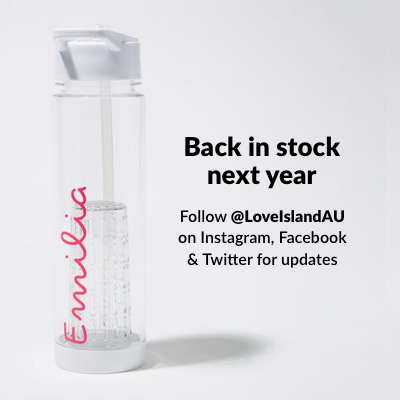 Official Love Island Water Bottle - Personalised