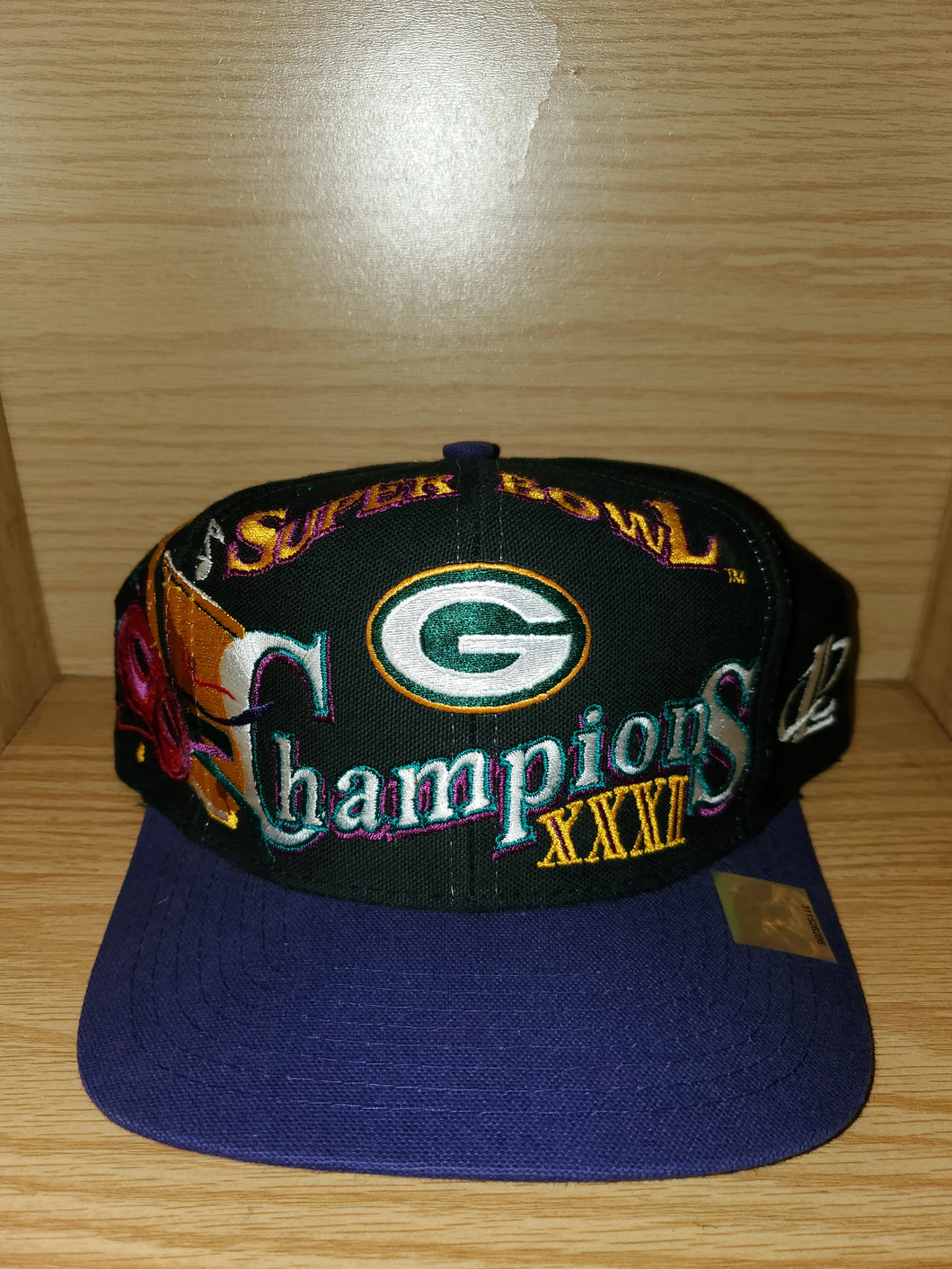 Vintage Packers Super Bowl XXXI Champions Hat