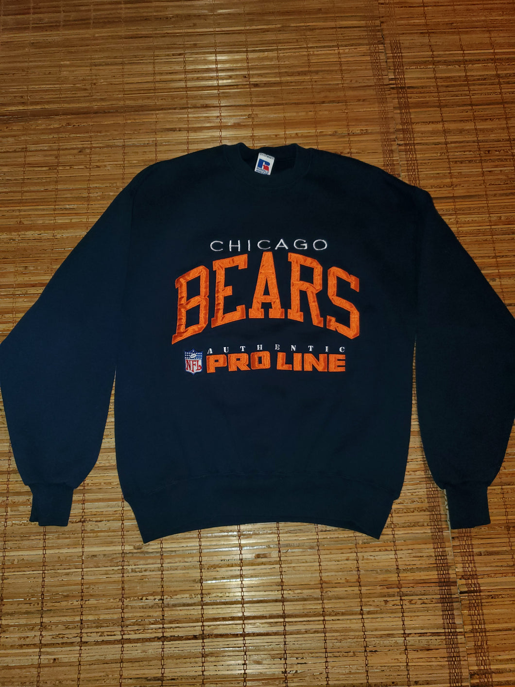 L - Vintage Bears Russel Athletics Pro Line Sweater