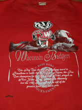 Load image into Gallery viewer, L - Vintage Wisconsin Badgers Rose Bowl Sweater