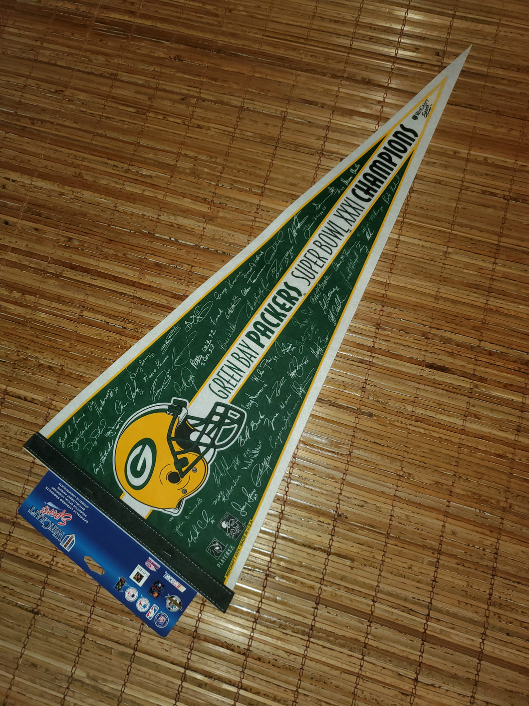 Vintage Packers Superbowl XXXI Pennant