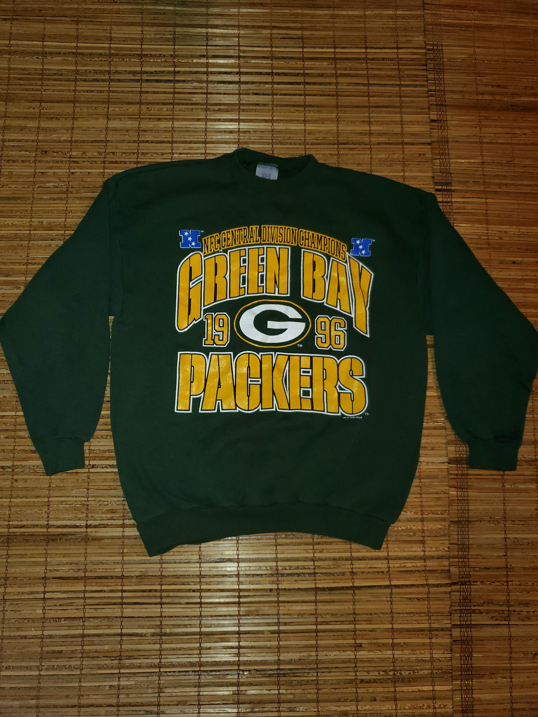 L - Vintage 1996 Packers NFC Division Champs Sweater
