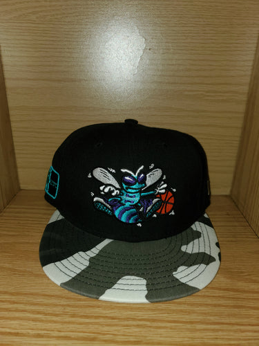 Charolette Hornets 7 3/8 Fitted Hat