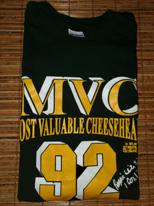 XL - Packers Most Valuable Cheesehead Reggie White Shirt
