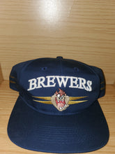 Load image into Gallery viewer, Vintage 1996 Brewers Looney Tunes Taz Hat